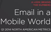 Email in a Mobile World: Q1 2014 North American Metrics