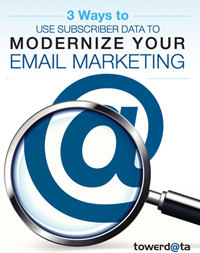 3 Ways to Use Subscriber Data to Modernize your Email Marketing